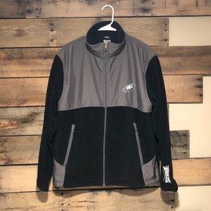 Philadelphia Eagles zip up fleece jacket